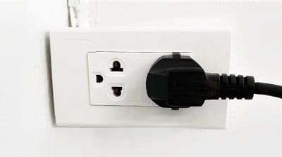 เตาอบลมร้อน สามารถเสียบกับไฟบ้าน