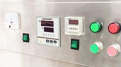 Máy sấy thực phẩm khí nóng công nghiệp GE - hệ thống cảm biến nhiệt điện tử chính xác