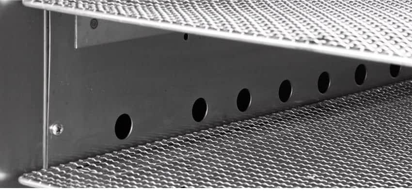 Máy sấy thực phẩm khí nóng công nghiệp GE thiết kế ngăn cách nhiệt giúp tiết kiệm điện năng