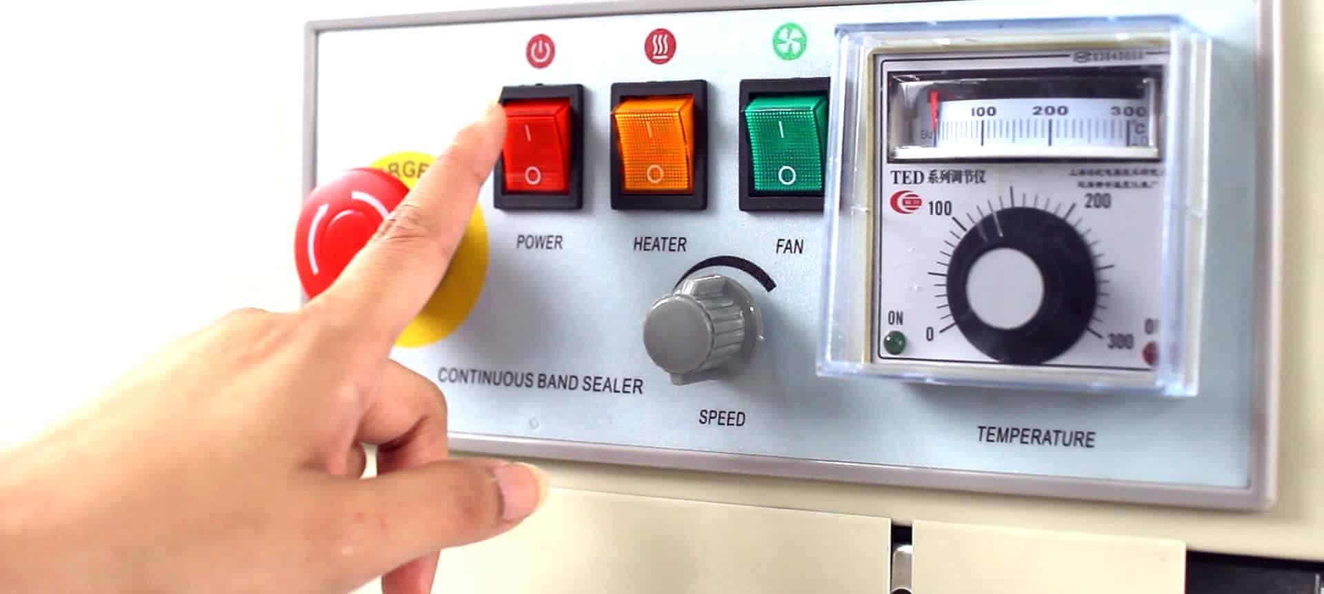 hướng dẫn sử dụng máy hàn miệng túi tự động băng chuyền AS02