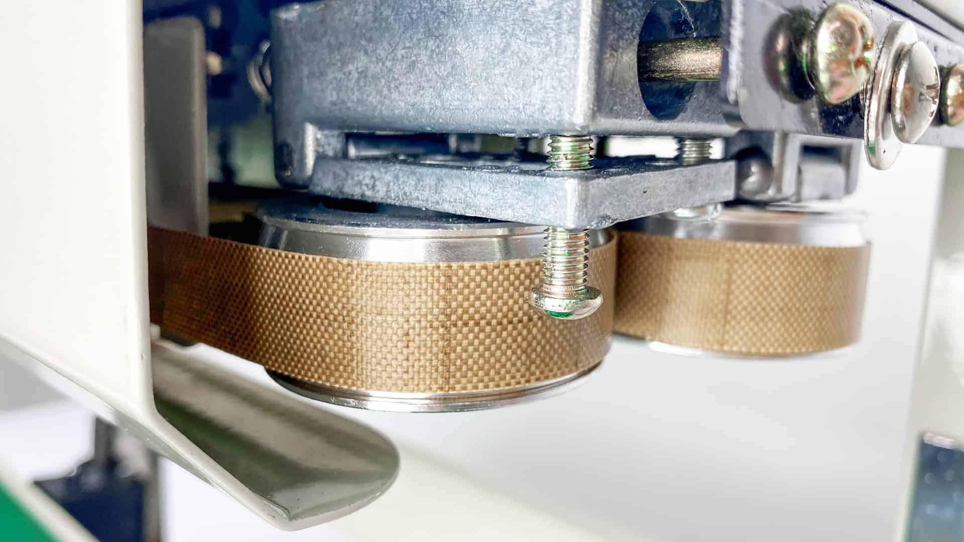 Độ dày dải hàn máy hàn miệng túi tự động băng chuyền AS02 tới 10mm