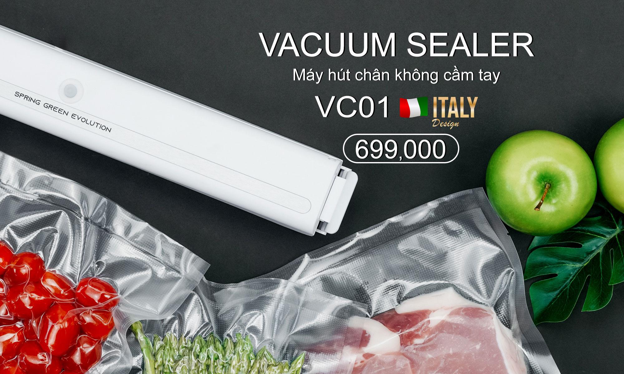 máy hút chân không mini VC01-New