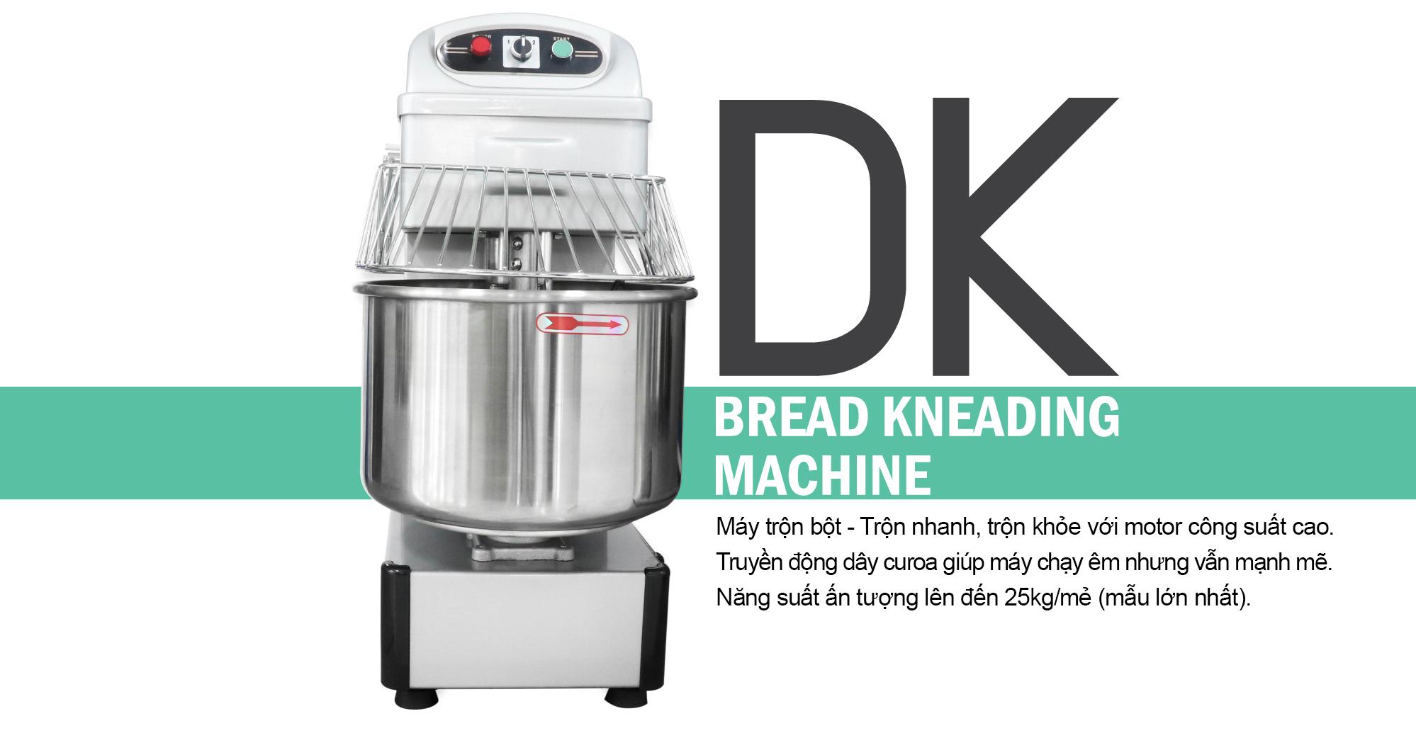Máy trộn bột máy trộn thực phẩm công nghiệp DK