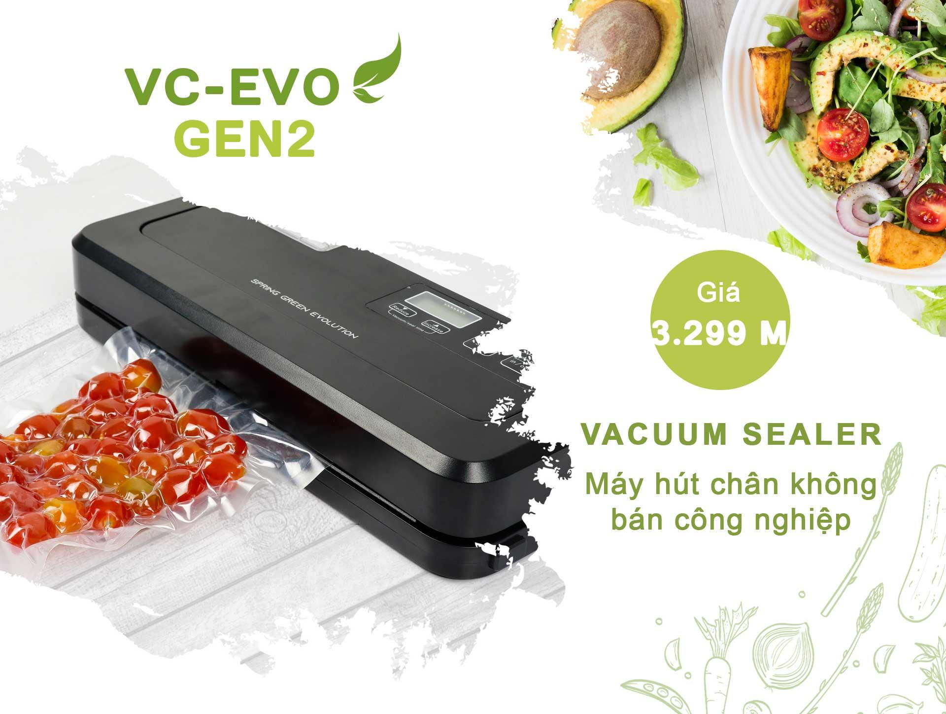 Máy hút chân không-กึ่งอุตสาหกรรม-VC-EVO-Gen2-ราคา