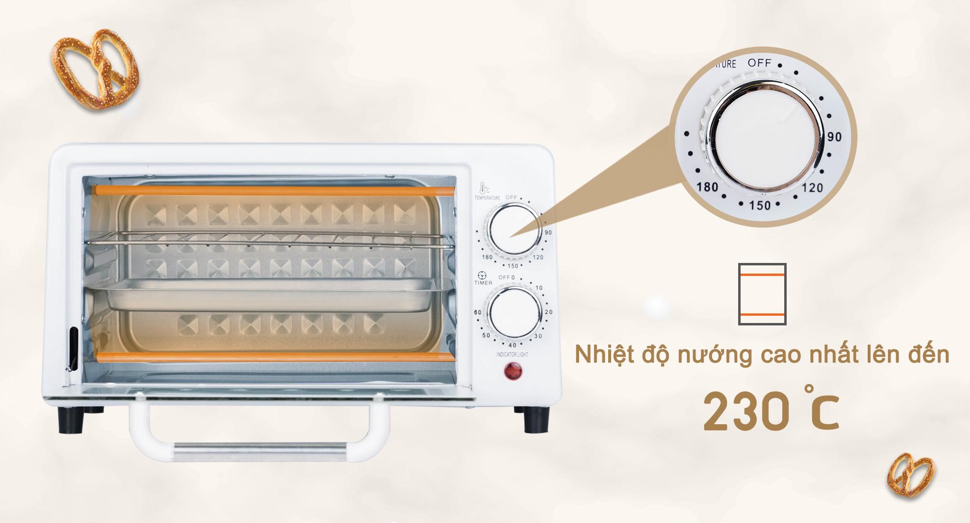 Lò nướng bánh ระบบไฟ12