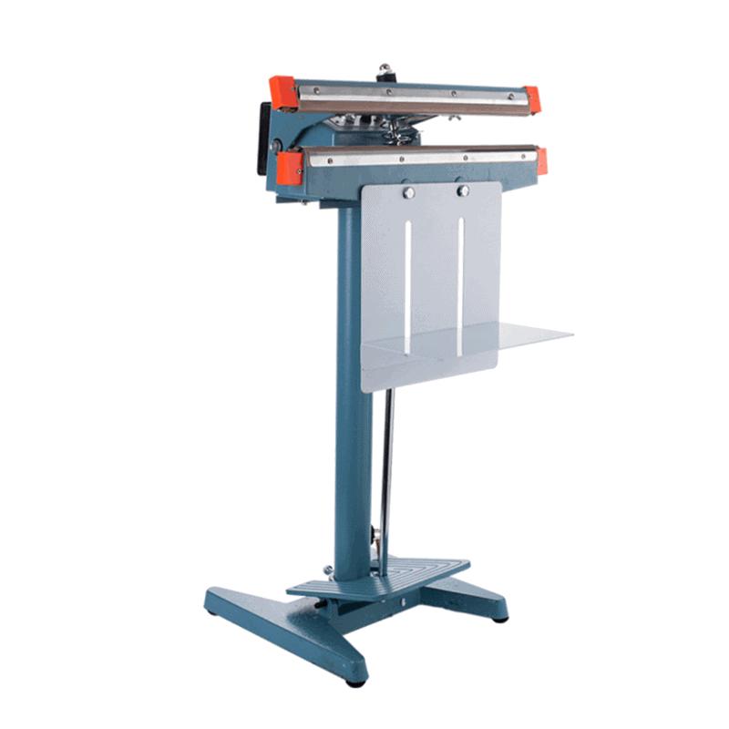 máy hàn miệng túi dập chân ( dải hàn đơn) FS02