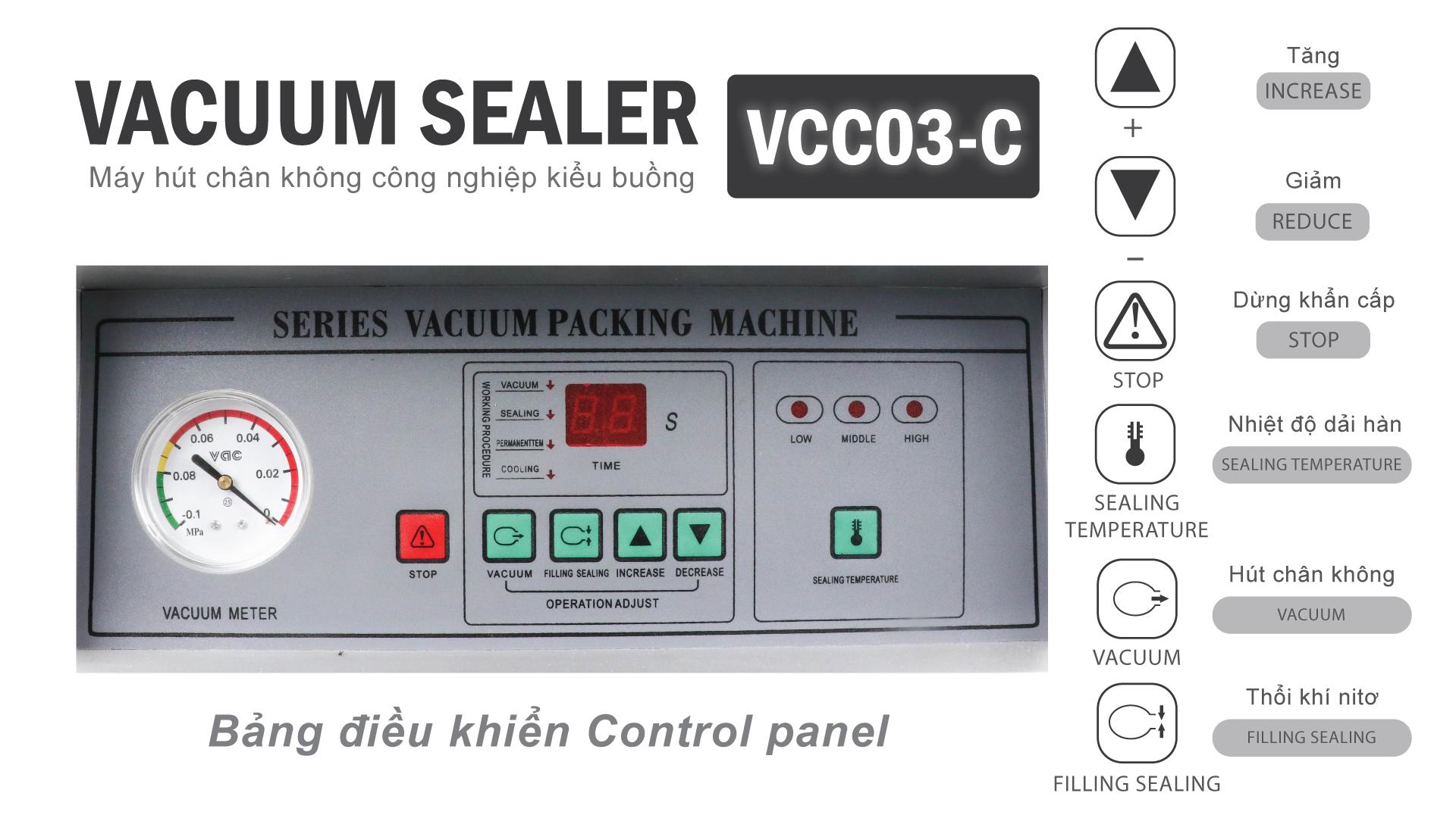 máy hút chân không VCC-03-C (5)